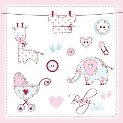 Baby shower  LeonART - Fotolia.com