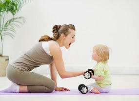 sport mit baby © Alliance - Fotolia.com